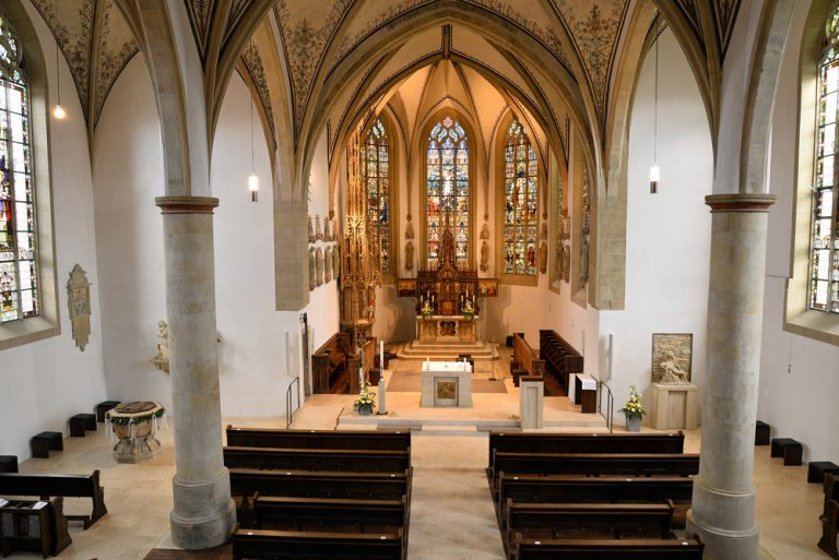 Innenansicht Pfarrkirche St. Magnus